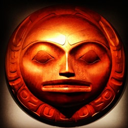 Haida Moon carving